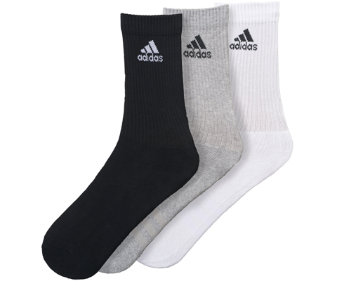 ddda474e0d9 Adidas 3 Stripes Performance Crew Sock 3 Pack. $25.00. $20.00. •. Product  ...