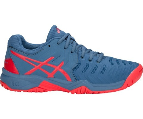 new arrival ac991 94acc ASICS Gel Resolution 7 GS Junior Tennis Shoes - Stringers Sports