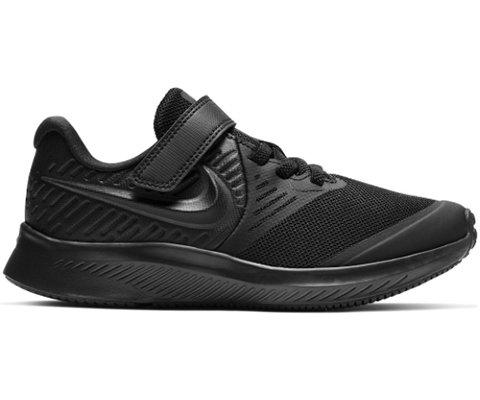 Nike Kids Star Runner 2 Little Kids Shoe BlackAnthracite Black Volt